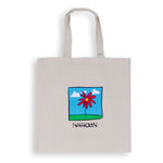 Flower Tote Bag Sand