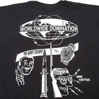 Worldwide  Domination T-Shirt Black