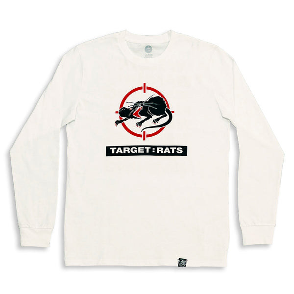 Target Rats Long Sleeve Shirt White