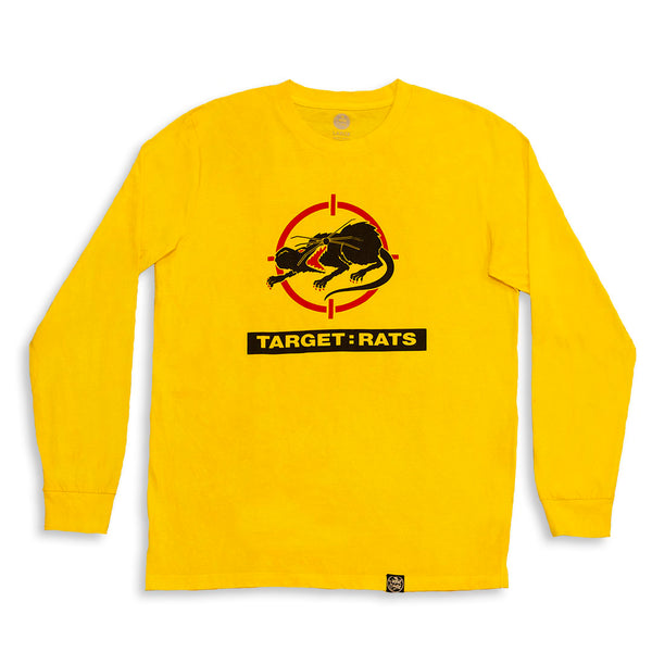 Target Rats Long Sleeve Shirt Yellow