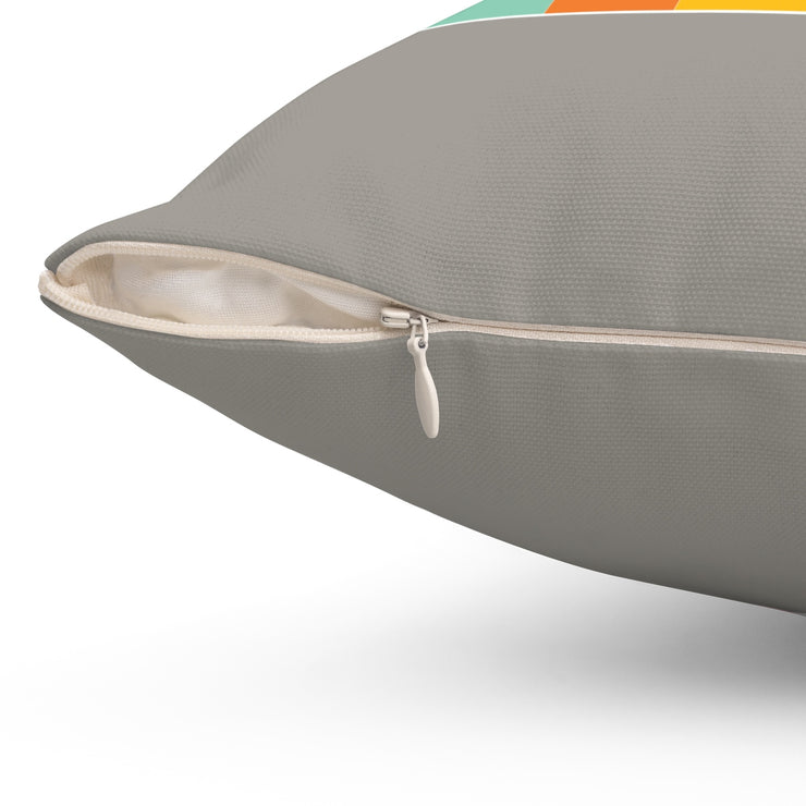 "Gray ""NOT FOR EVERYBODY"" Pillow"