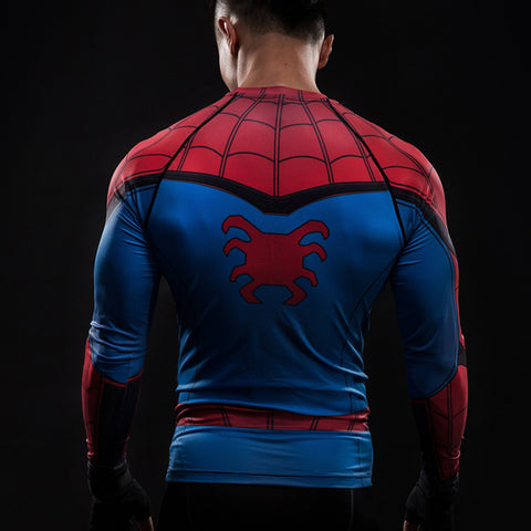 Spiderman  long-sleeved compression T-Shirt