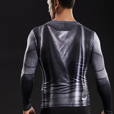 Image of Batman  long sleeved compression T-Shirt