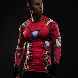 Ironman long-sleeved compression T-Shirt