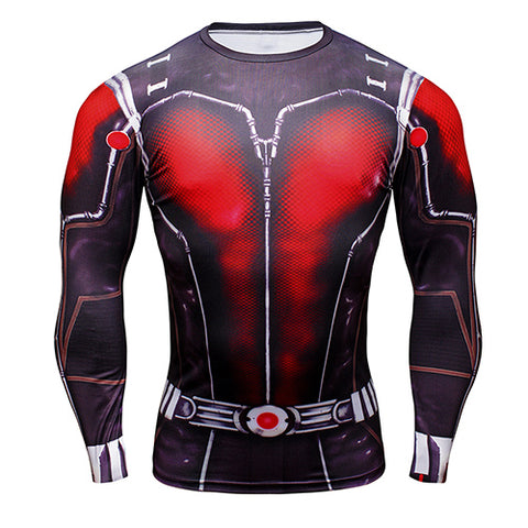 Image of Ant Man long-sleeved compression T-Shirt