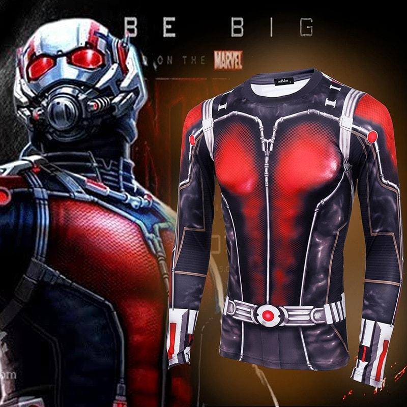 Ant Man long-sleeved compression T-Shirt