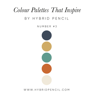 Colour Inspiration #3 by Hybrid Pencil