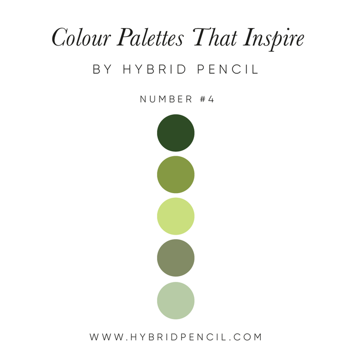 Colour Inspiration #4 by Hybrid Pencil