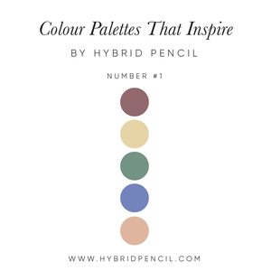 Colour Inspiration #1 by Hybrid Pencil