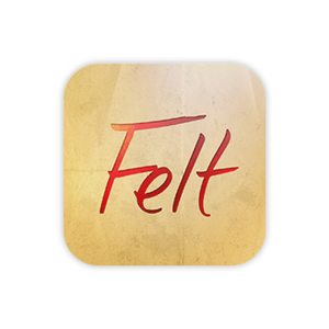 Felt App Greeting Cards