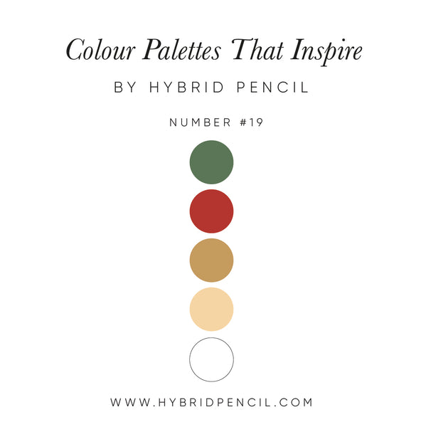 Colour Inspiration by Hybrid Pencil