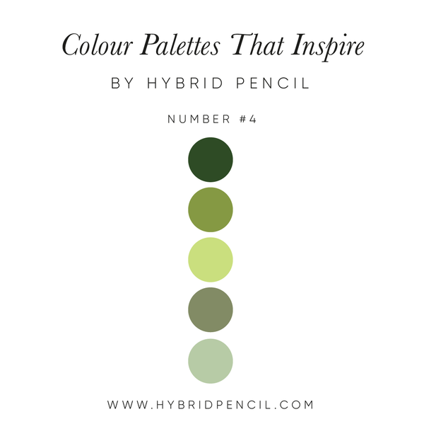 Colour Palette Forest by Hybrid Pencil