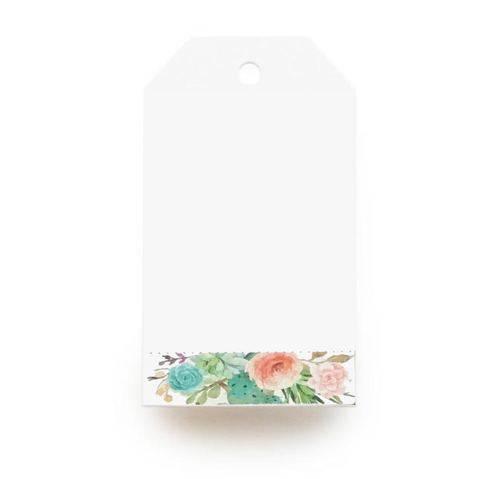 Floral Gift Tag - Pastel Flowers