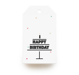Birthday Cake Gift Tags x10 - Stationery in Lagos, Nigeria, Hybrid Pencil