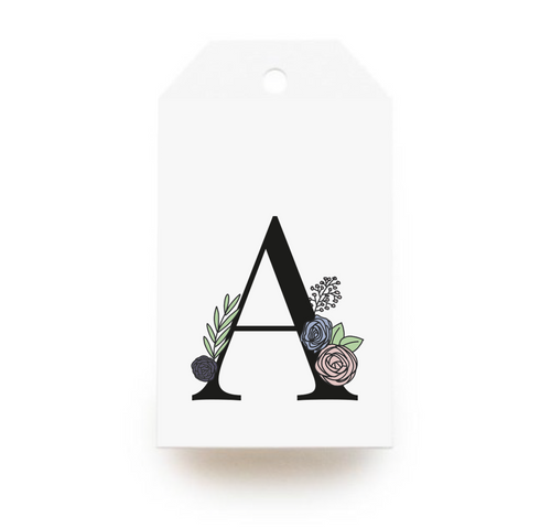 Floral Letter A Gift Tags - Stationery in Lagos, Nigeria, Hybrid Pencil