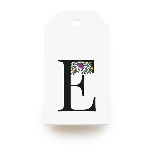 Floral Letter E Gift Tags - Stationery in Lagos, Nigeria, Hybrid Pencil