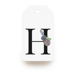 Floral Letter H Gift Tags - Stationery in Lagos, Nigeria, Hybrid Pencil