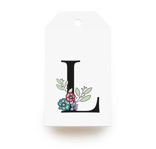 Floral Letter L Gift Tags - Stationery in Lagos, Nigeria, Hybrid Pencil