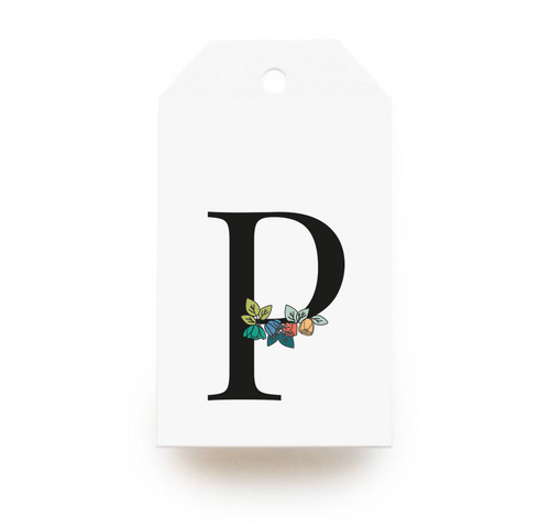 Floral Letter P Gift Tags - Stationery in Lagos, Nigeria, Hybrid Pencil