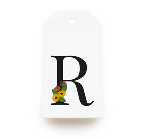 Floral Letter R Gift Tags - Stationery in Lagos, Nigeria, Hybrid Pencil