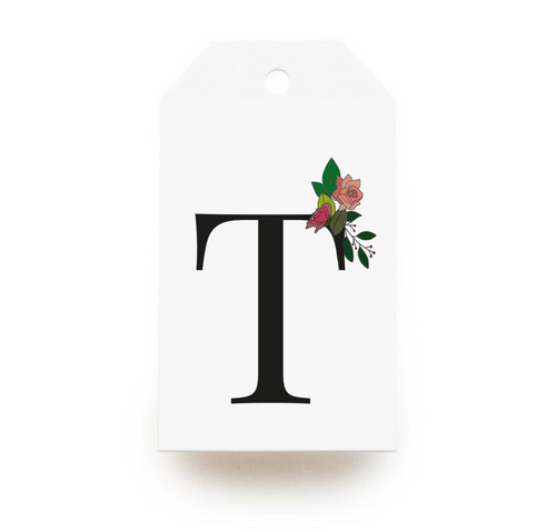 Floral Letter T Gift Tags - Stationery in Lagos, Nigeria, Hybrid Pencil