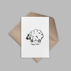 Happy Easter Greeting Card - Stationery in Lagos, Nigeria, Hybrid Pencil