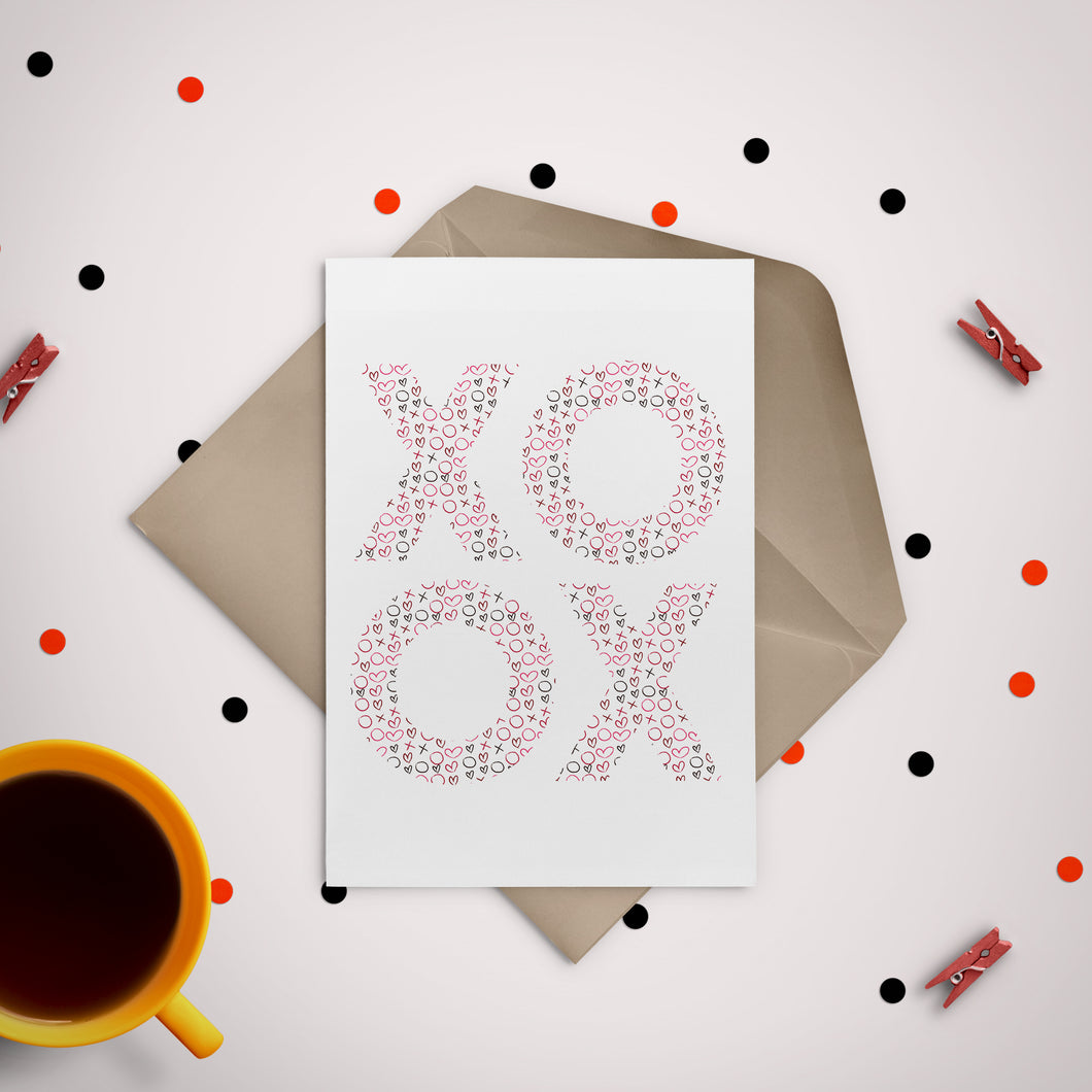Hugs, Kisses & Love Greeting Card - Stationery in Lagos, Nigeria, Hybrid Pencil