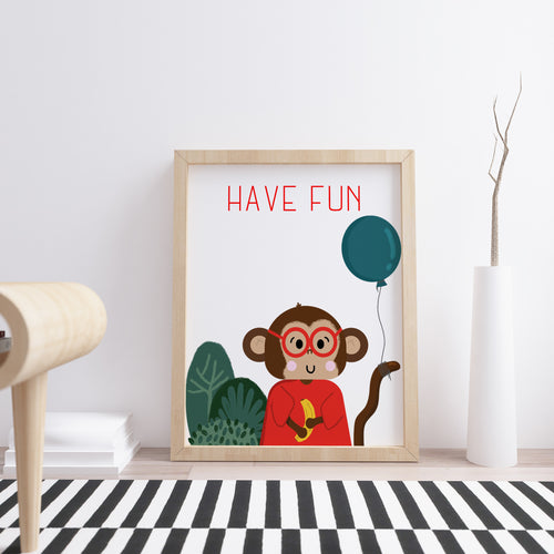 Have Fun Nursery Wall Art