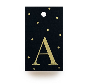 Gold Letter A Gift Tags x10 - Stationery in Lagos, Nigeria, Hybrid Pencil