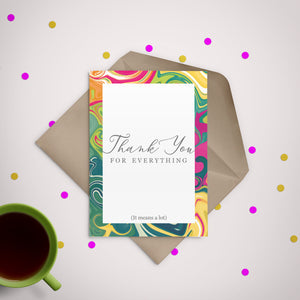 Thank You for Everything Greeting Card - Stationery in Lagos, Nigeria, Hybrid Pencil