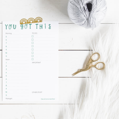 A4 to A5 Daily Planner: Unlimited prints!