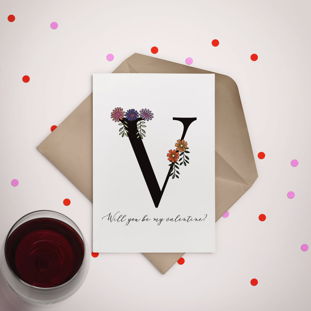 Will You be My Valentine Greeting Card - Stationery in Lagos, Nigeria, Hybrid Pencil