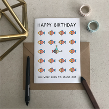 You Were Born to Stand Out Greeting Card - Stationery in Lagos, Nigeria, Hybrid Pencil