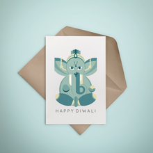 Happy Diwali Greeting Card, Greeting Card - Nigeria, Stationery, Hybrid Pencil