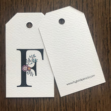 Floral Letter F Gift Tags - Stationery in Lagos, Nigeria, Hybrid Pencil