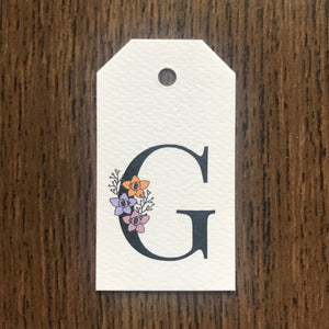 Floral Letter G Gift Tags - Stationery in Lagos, Nigeria, Hybrid Pencil