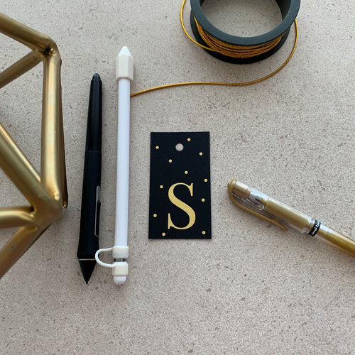 Gold Letter S Gift Tags x10 - Stationery in Lagos, Nigeria, Hybrid Pencil