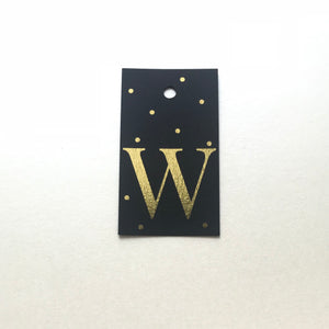 Gold Letter W Gift Tags x10 - Stationery in Lagos, Nigeria, Hybrid Pencil