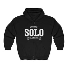 Authentic SOLO athletic gear Unisex Heavy Blend™ Full Zip Hooded Sweatshirt
