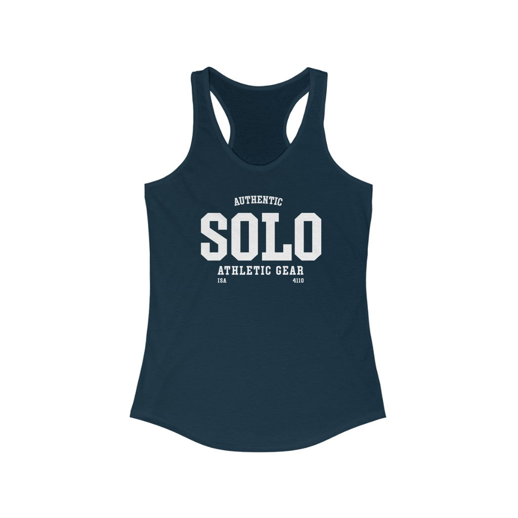 Authentic SOLO athletic wear Women's Ideal Racerback Tank
