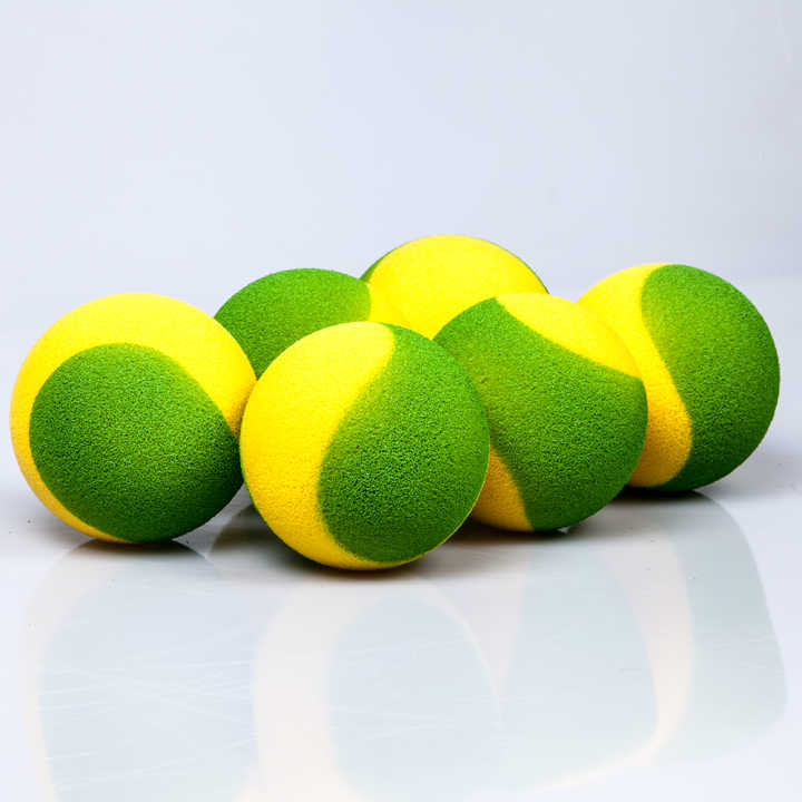Portable Power Tennis Set (1 net, 6 foam balls)