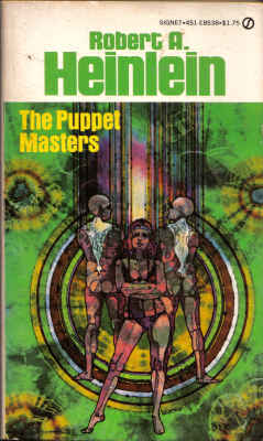 The Puppet Masters by Robert A. Heinlein (used)