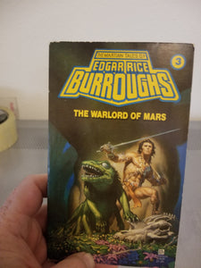The Warlord of Mars 3 by Edgar Rice Burroughs (paperback)