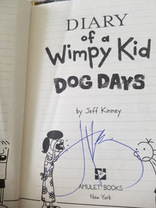 Diary of a Wimpy Kid: Dog Days  SIGNED
