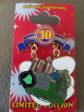 Disney Haunted Mansion pin limited edition Walt Disney World  Trading 10th Anniversary Tribute