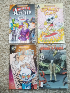 8 2015 Comicfest mini-comics