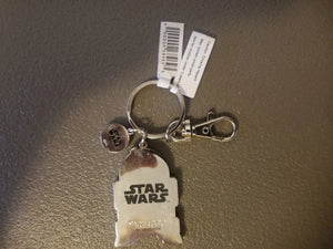 Disney Parks Star Wars R2-2 Face Figure ThicK Metal KEY CHAIN 2019