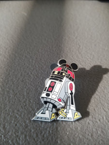 Disney Pin: Red R2D2 with Mickey Ears