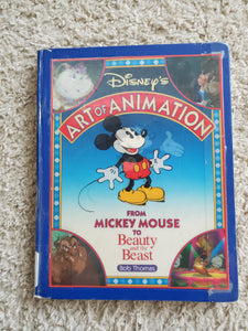 Disney's Art of Animation: From Mickey Mouse to Beauty and the Beast (USED)