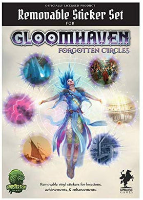 Gloomhaven Removable Sticker Set Forgotten Circles Licensed Gloomhaven Accessory
